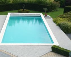 Zwembadterras bij sungarden pools te zonhoven sinds